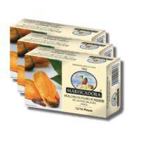 Mariscadora sült kékkagyló pikáns galíciai szószban
