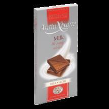 Antiu Xixona gluténmentes, hozzáadott cukrot nem tartalmazó tejcsokoládé, 125g