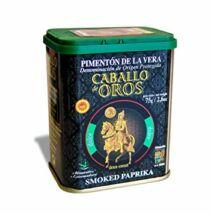 Caballo de Oros füstölt őrölt pirospaprika-Csemege, 75g