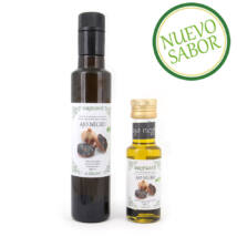 Agrisanz Bio extra szűz olívaolaj fekete fokhagymával, 250ml
