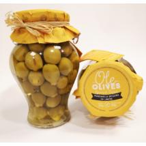 Don Gastronom citrommal töltött Manzanilla olívabogyó, 580g/300g
