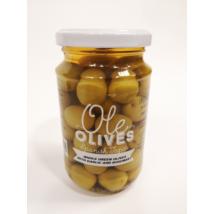 Don Gastronom egész Manzanilla olívabogyó fokhagymával és rozmaringgal, 350g/200g
