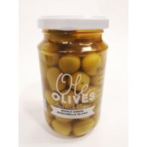 Manzanilla zöld egész olívabogyó, 350g/200g