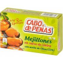 """Cabo de Peñas kékkagyló """"galíciai"""" szószban olívaolajjal, 111g/69g"""