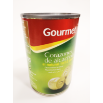 Gourmet natúr articsóka konzerv 10/12db, 400g/240g