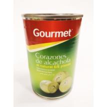 Gourmet natúr articsóka konzerv 6/8db, 400g/240g