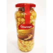 Gourmet csicseriborsó zöldségekkel, 540g/400g