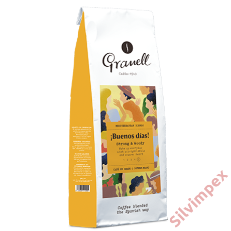 Granell Buenos dias Arabica szemes kávé, 200g