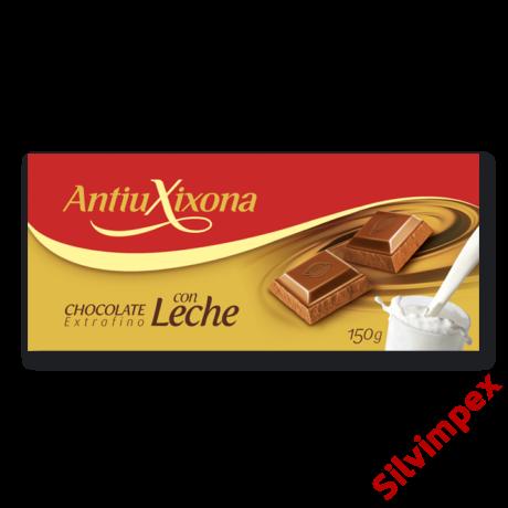 Antiu Xixona gluténmentes tejcsokoládé, 150g