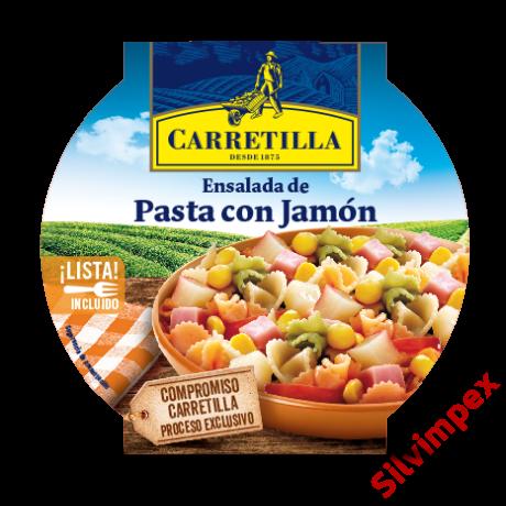 Carretilla sonkás tésztasaláta