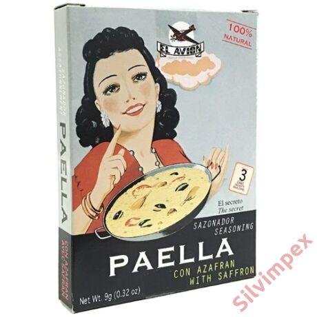 Paella fűszerkeverék sáfránnyal, 3x3g