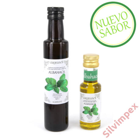 Bio extra szűz olívaolaj bazsalikommal, 250ml